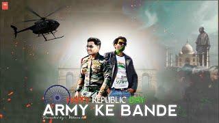 ARMY KE BANDE RAP SONG - FT- HV - OFFICIAL MUSIC VIDEO | Rap Song - Army ke Bande