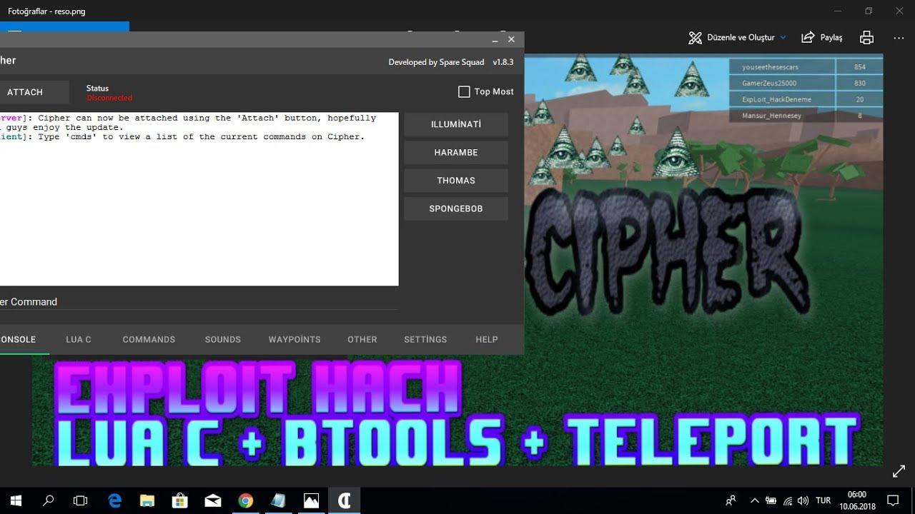 Dll Injector Roblox Lumber Tycoon 2 Roblox Cheat Mega Roblox Exploit Hack Cipher Lua C Btools Teleport Lumber Tycoon