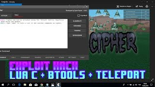 Roblox Exploit Hack - CIPHER - LUA + C - BTOOLS - TELEPORT- Tycoon de madera 2 MANUAL BRING - TODOS LOS JUEGOS - TODOS LOS JUEGOS -