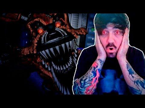 Nightmare Foxy y Nightmare Freddy han venido a verme | Five nights at Freddy's Help Wanted VR