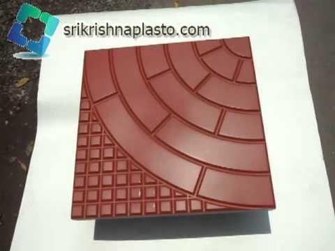 Designer Concrete Tiles Mould Floor