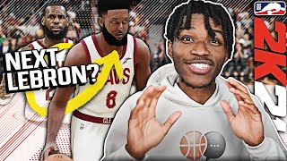 I DRAFTED THE NEXT LEBRON JAMES IN NBA 2K21 NEXT-GEN