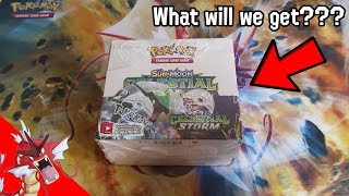 Pokemon Celestial Storm BOOSTER BOX opening!!! (part 1)