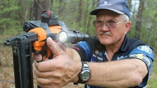 TACTICAL ASSAULT STAPLE GUN- WORLD RECORD 6 STAPLES in 1 SECOND IN SLOW MO! (April fools!)