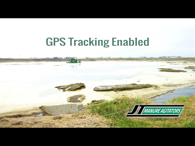 GPS on a JT Manure Agitator Boat 1800 Series 30 Minute Time Lapse