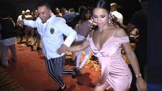 Melany Mercedes & Brandon Ayala social salsa dancing @ LVS-SC'18!