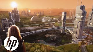 Reinvent Life on Mars | HP Mars Home Planet | HP