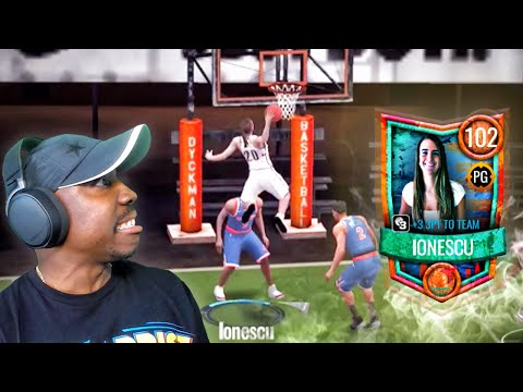 #1 WNBA Draft Pick DUNKING On NBA PLAYERS! NBA Live Mobile 20 Season 4 Pack Opening Gameplay Ep. 56