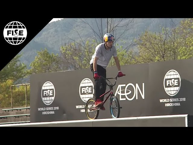 Daniel Dhers | 3rd Men Final UCI BMX Freestyle Park World Cup - FISE Hiroshima 2018