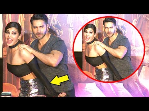 Jacqueline Gets NAUGHTY With Varun Dhawan...