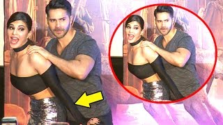 Jacqueline Gets NAUGHTY With Varun Dhawan At Dishoom Trailer Launch