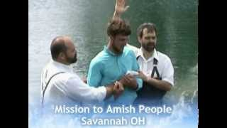Baptisms Among the Amish
