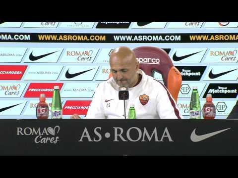 Spalletti in conf stampa pre Roma-Bologna (VIDEO INTEGRALE HD) 10.04.16