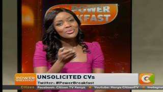 Power Breakfast: Unsolicited CVs