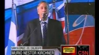 Murió Nestor Kirchner Ex Presidente De Argentina