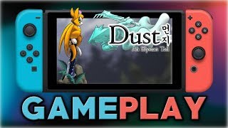 Dust: An Elysian Tail | First 20 Minutes | Nintendo Switch