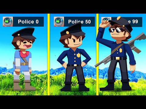 UPGRADING Into A POLICE OFFICER In GTA 5!