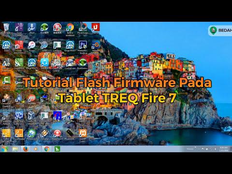 Tutorial Flashing Firmware Treq Fire 7