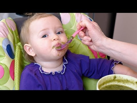 Babies Eating Vegetables Compilation (2018)