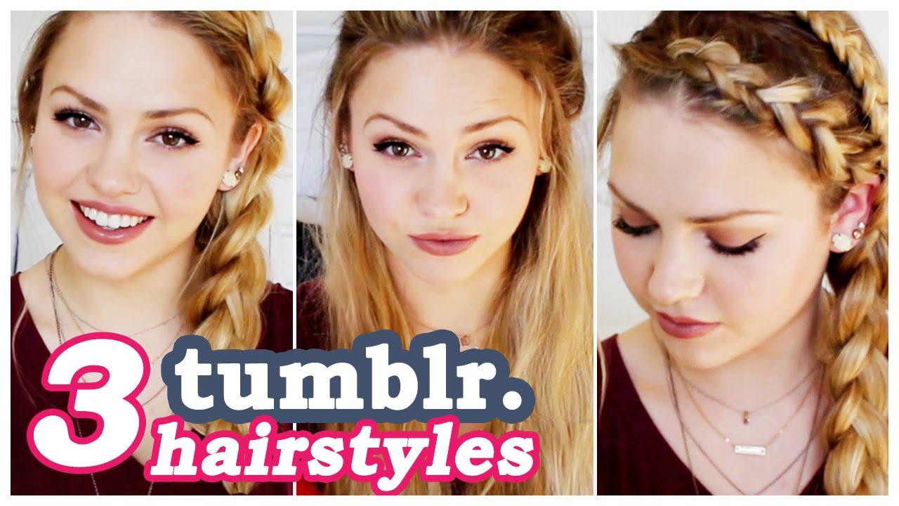 3 easy hair tutorials