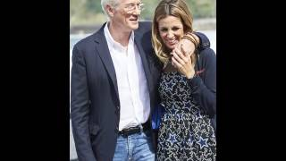 Richard Gere 67 eyes girlfriend Alejandra Silva 33 San Sebastian Film Festival