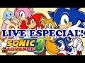 LIVE ESPECIAL - SONIC ADVANCE 3 (GBA) Live de 12/08/2017
