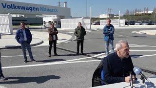 El comite de Volkswagen Navarra pide paralizar la producción