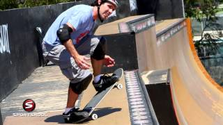 How To Drop In On A Vert Ramp With Andy Mac