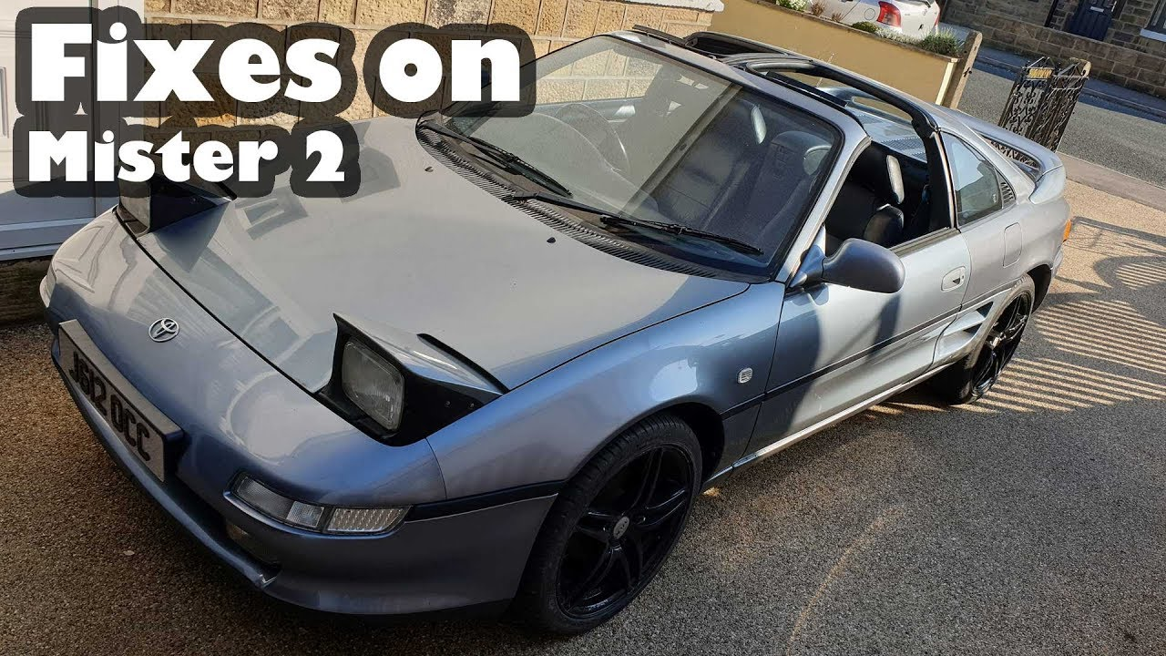 FIXES AND MOT PREP FOR MISTER 2 - MR2 TRACK CAR BUILD