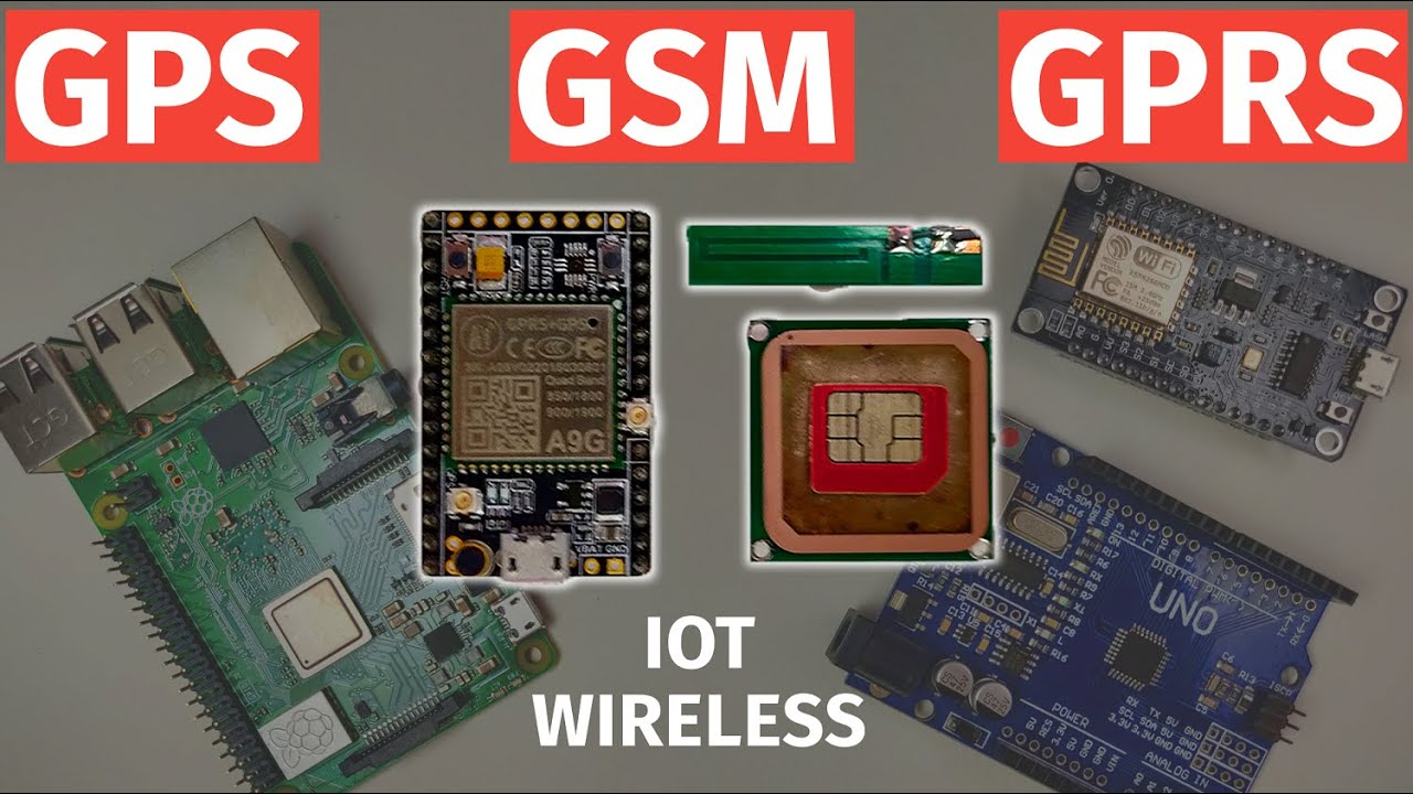 Download A9G GPS & GPRS Module Tutorial   Ai-Thinker   AT Commands