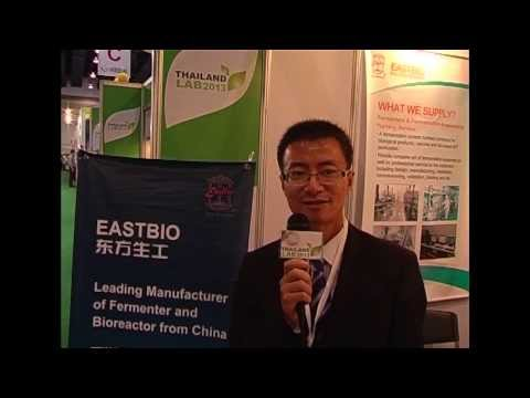 11 Thailand LAB 2013 Exhibitor Interview Zhejiang East Biotech Equipment & Technology