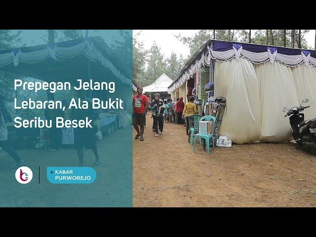 Prepegan Jelang Lebaran, Ala Bukit Seribu Besek