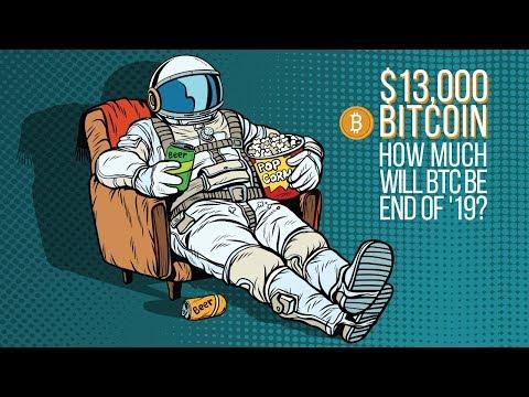 BTC SMASHES $13,000, Bitcoin Price End Of 2019?