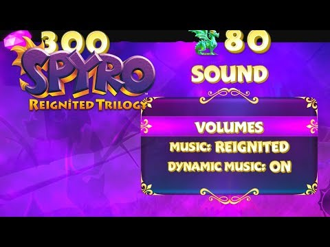 Spyro Reignited Trilogy Music Options - Reignited, Dynamic, Original
