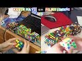 2x2 7x7 Rubik S Cube World Record Race Kevin Hays VS Feliks Zemdegs
