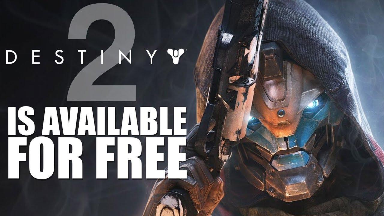 i got destiny 2 for free