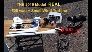 Genuine 500 watt small wind turbine, Best Micro Wind Turbine 2019 models!