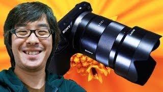 SONY α Eマウント最強レンズ!カールツァイス Sonnar T* E 24mm F1.8 ZA (1/2) thumbnail