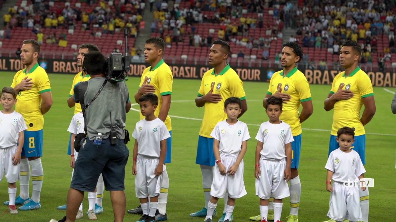 Imagens Do Jogo Preparatório Da Seleção Brasileira Com O Senegal Youtube