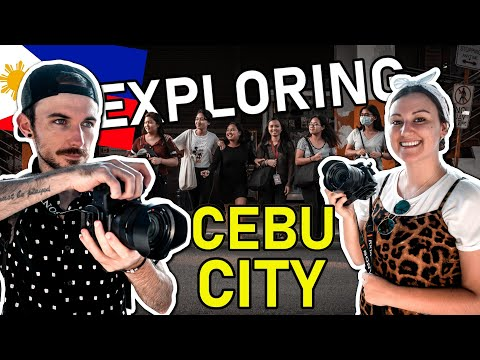 First IMPRESSIONS of Cebu City Philippines - Taking Pictures of FILIPINO People
