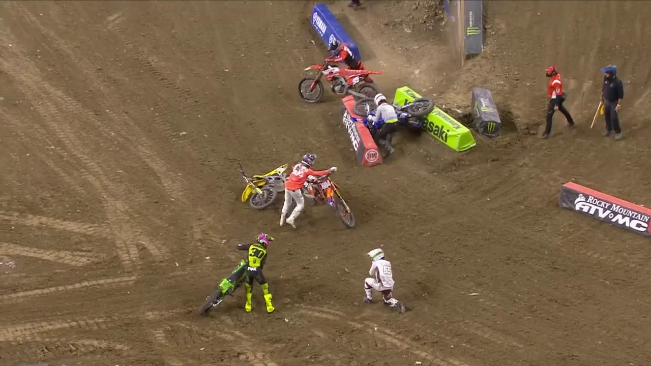 Supercross Round #5 250SX Highlights from Indianapolis
