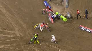 Supercross Round #5 250SX Highlights | Indianapolis, IN, Lucas Oil Stadium | Feb 2, 2021