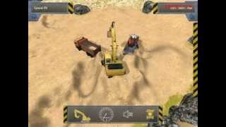 PC  game Construction-Simulator 2012 pc210 excavator and dump truck