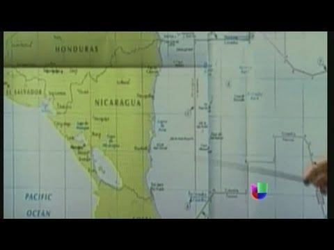 Colombia y Nicaragua enfrentados por espacio marítimo - Noticiero Univisión