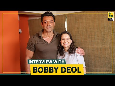 Interview with Bobby Deol | Race 3 | Anupama Chopra | Film Companion