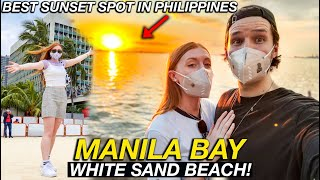 MANILA BAY White Sand Beach CRAZY PUBLIC OPENING (Last Chance To See This!)