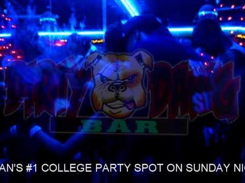 FLINT'S #1 COLLEGE PARTY SPOT ON SUNDAY NIGHTS @ DA DIRTY DAWG BAR !
