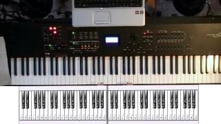 How to play SCALES and CHORDS on the PIANO [Part 1]