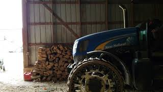 2005 New Holland TS115A startup