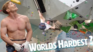 Magnus Midtbø schooled by professional crack climber!